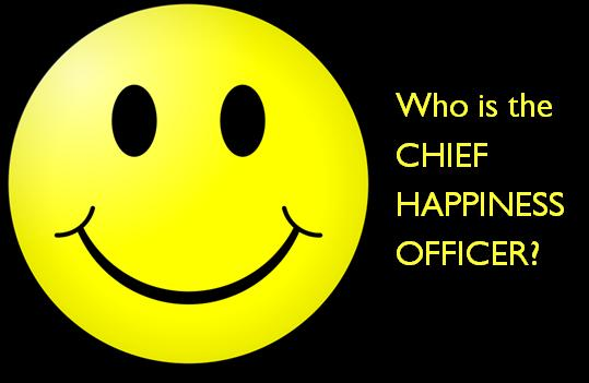 does your company have a cho  chief happiness officer