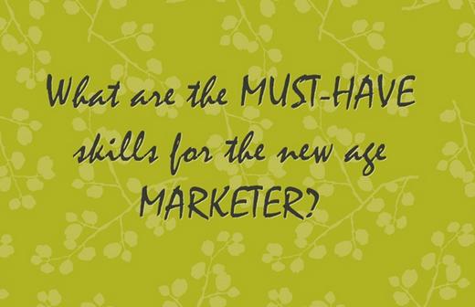 Marketer Skills